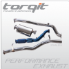 "Torqit 3"" Stainless Steel Exhaust"