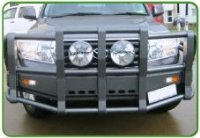 OAQ �5� Post Powder Coated Bull Bar